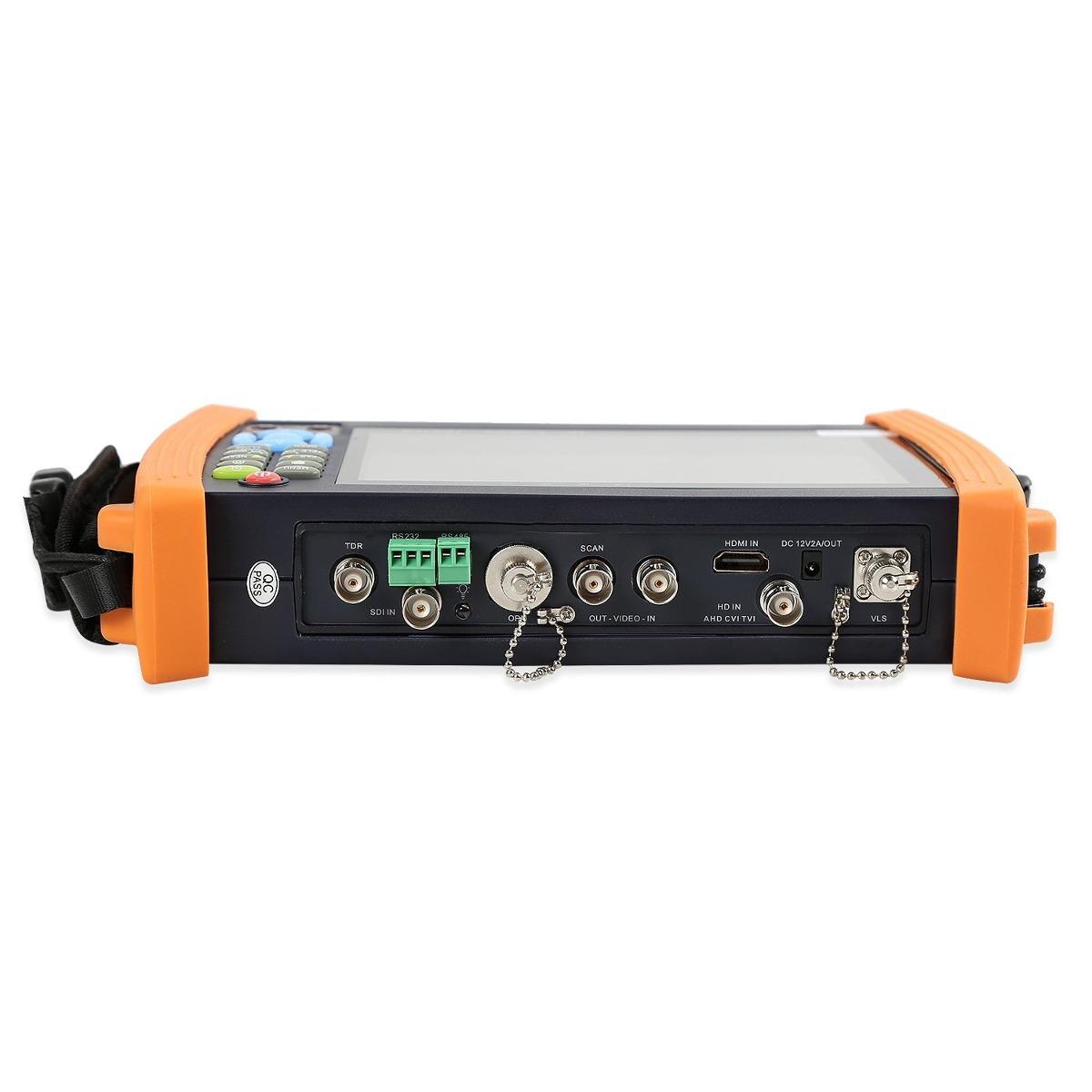 Electop 7 Inch Cctv Tester 1080p Ip Camera Onvif Monitor Sd Cargando Zoom