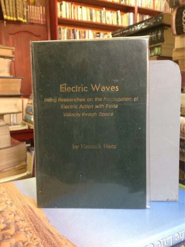 electric waves, by heinrich hertz.