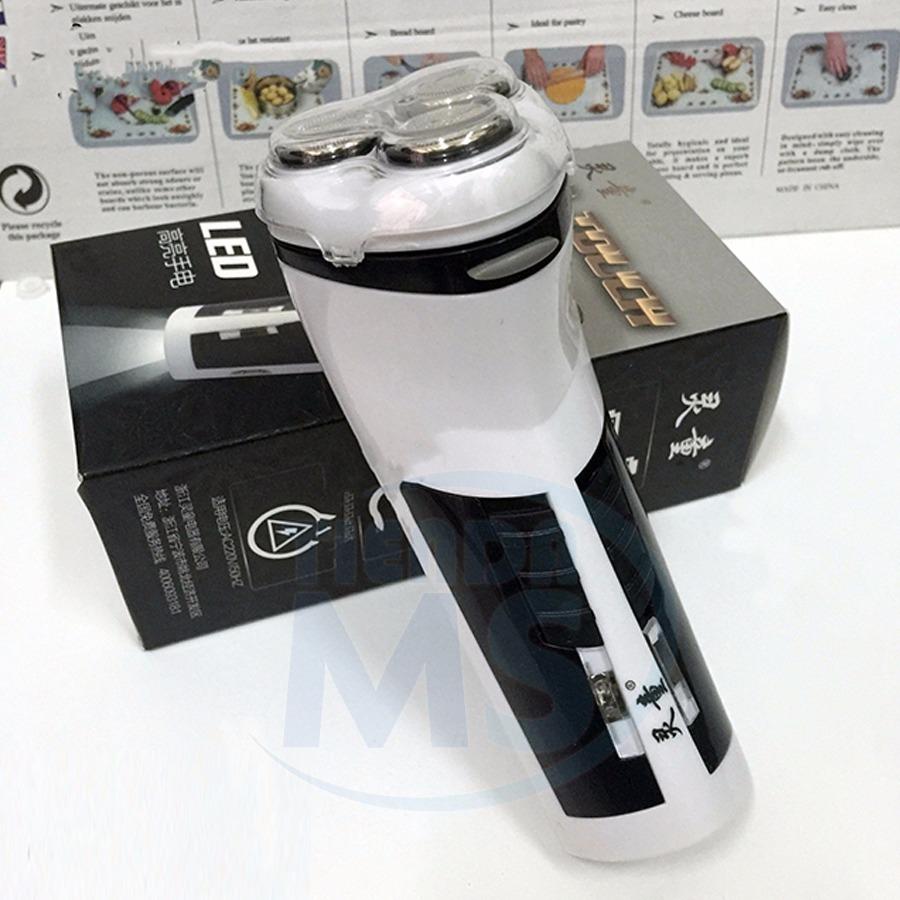 Afeitadora Electrica Recargable Afeita Barba Luz Oferta! -   748 d384ed9a8388