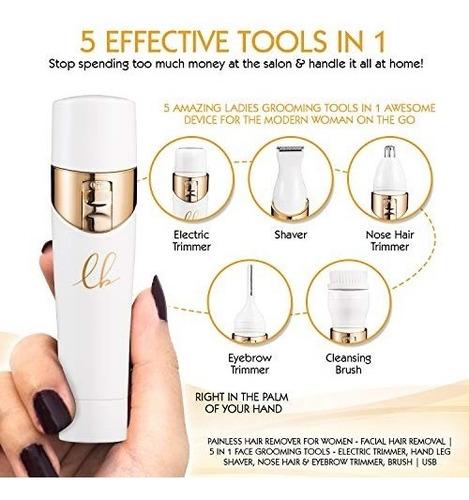 electrica depilacion indolora para mujer vello facial afeita