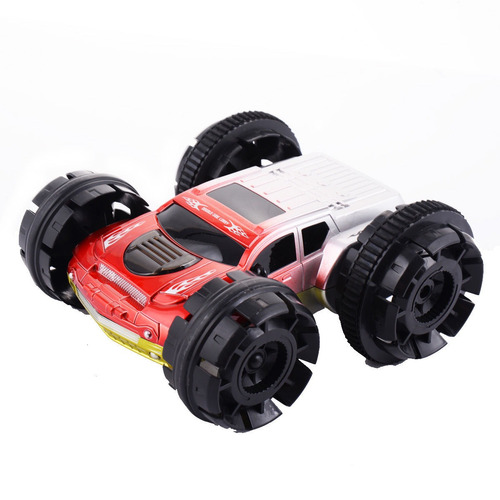 eléctrica doble cara control remoto stunt coche rc 360
