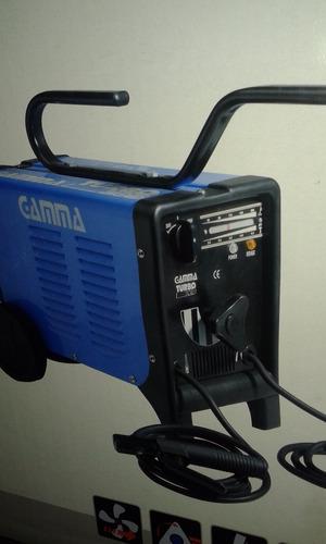eléctrica gamma soldadora