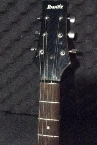 eléctrica ibañez guitarra