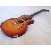 Guitarra Electrica Esp Ltd Ec-100qm Color Madera Nueva!!!