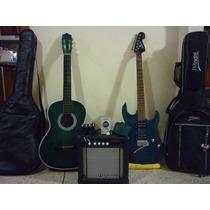 Combo Guitarra Electrica - Acustica