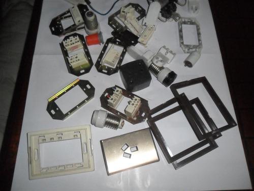 electricidad articulos herramientas tecla iluminacion tapa