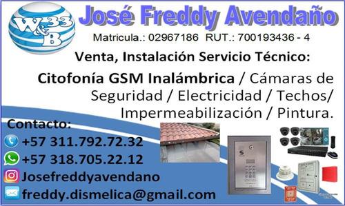 electricidad, gas, techos, pintura, remodelacion y más..