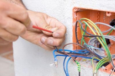 electricidad, termografía, luminaria, reparación instalación