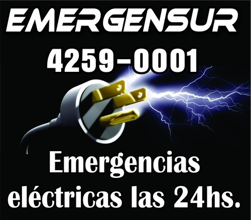 electricista 24 hs