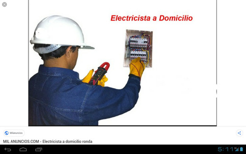 electricista a domicilio