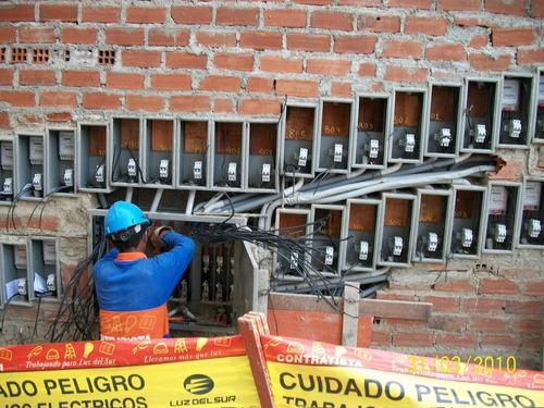 electricista emergencias electricas san borja surco 24hrs