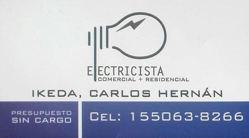 electricista industrial, comercial y residencial.-