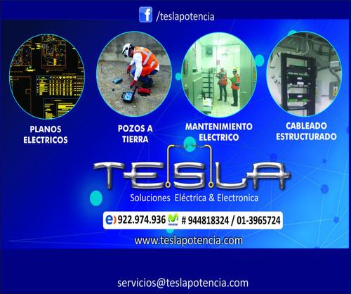 electricista-instalación eléctrica-planos eléctricos-indeci