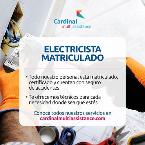 electricista matriculado - caba y gba zona norte, sur, oeste