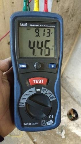 electricista matriculado ,dci ,medicion de puesta a tierra