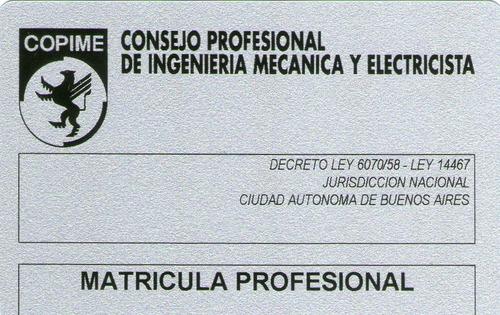 electricista matriculado dci medidor capital caba provincia