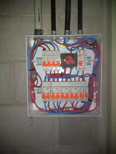 electricista matriculado (dci, planos, urgencias las 24 hrs)