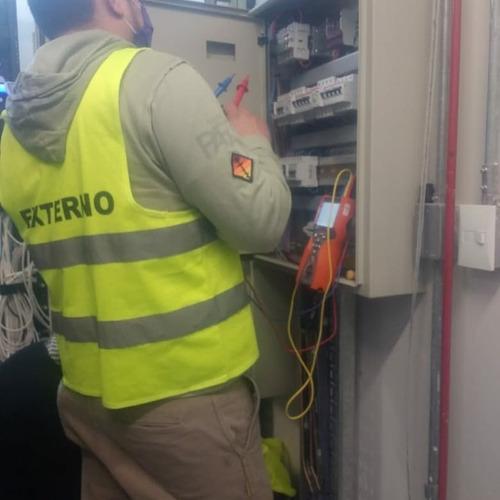 electricista matriculado edenor edesur termografia dci