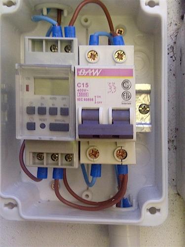 electricista matriculado, electricista industrial