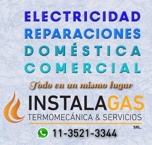 electricista matriculado hogar, empresas, consorcios service