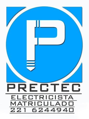 electricista matriculado la plata