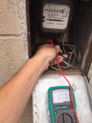 electricista matriculado - servicios domiciliarios y obras