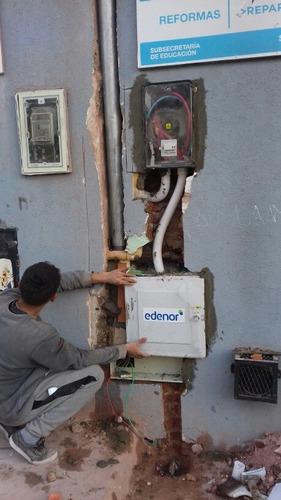 electricista matriculado. tecnico / 11-5697-6835 wsp.