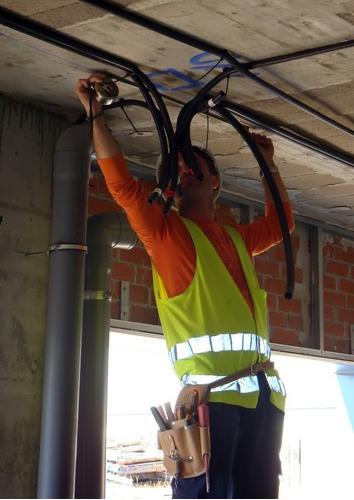 electricista matriculado urgencias 24 hs. servic split utn