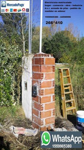 electricista matriculado zona norte escobar pilar dci edenor