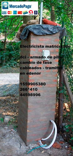 electricista matriculado zona norte pilar dci edenor mp