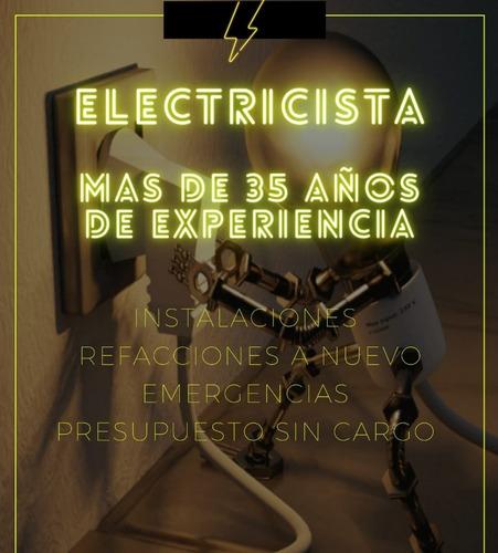 electricista, reparaciones domiciliarias, amplia experiencia