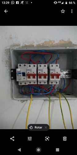 electricista. técnico  en refrigeración lavarropas.