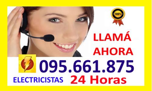 electricista urgencias 24 horas a su servicio ute 095661875