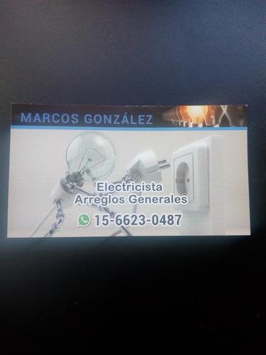 electricista zona floresta, mataderos, v.luro presup s/cargo