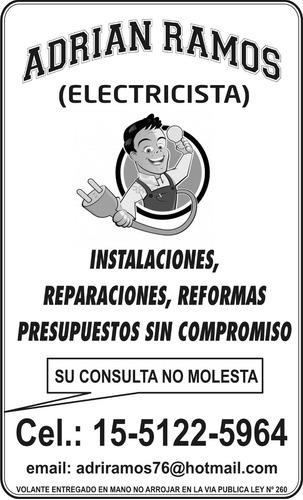 electricista zona sur: quilmes-varela-berazategui-bernal