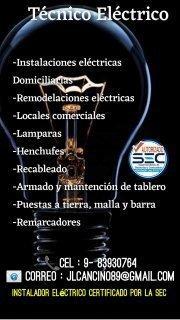 eléctrico certificado