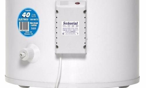 electrico señorial termotanque