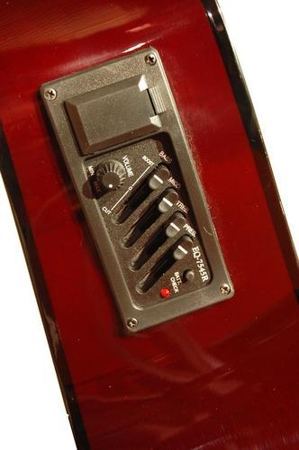 eléctro acústica guitarra