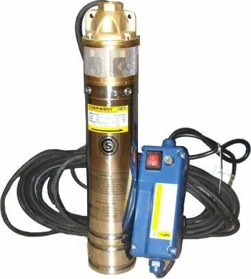 electro bomba sumergible pozo profundo 4 pulg 3/4hp