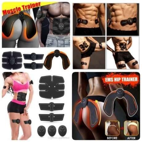 electro estimulador 5 en 1 abdominal brazos piernas gluteos