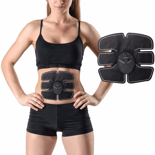 electro estimulador abdominal reductor fitness gym six pack