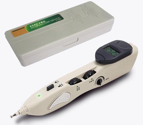 electro estimulador auricuroterapia set c/buscador de puntos