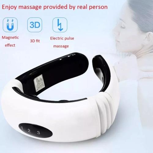 electro estimulador de cuello cervical digital 2 electrodos