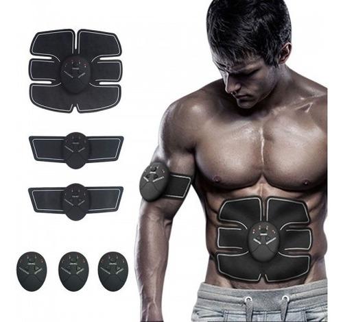 electro estimulador muscular parche abdominal tonificador