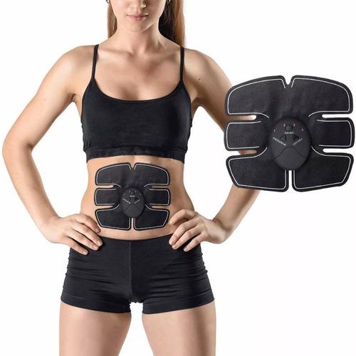 electro estimulador muscular tonificador abdominal + envío