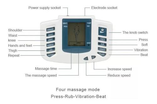 electro estimulador ondas rusas cuadradas / eshopviña