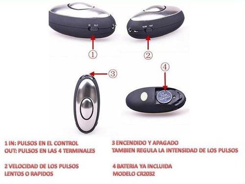 electro estimulador sexual con 4 terminales   igt