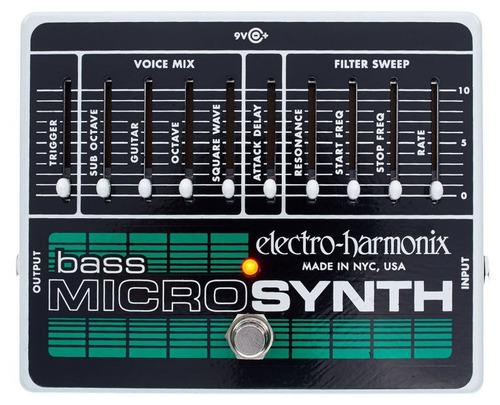 electro harmonix bass micro synth sintetizador baixo ehx