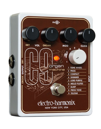 electro harmonix c9 organ machine - nuevo!