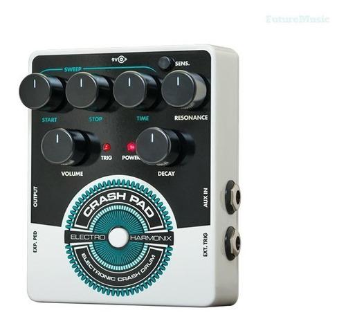 electro harmonix crash pad analog drum machine 12 cuotas